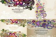 花卉传统花纹