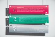 亮丽创意横幅模板矢量素材