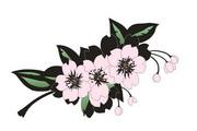 矢量花朵素材69
