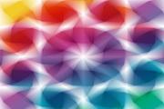 立体方块底纹矢量素材