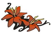 矢量花朵素材122