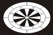 矢量黑白图案素材2