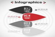 时尚信息图表矢量设计