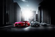 丰田汽车广告设计图片psd素材