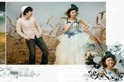 米哈依婚纱摄影相册模板09