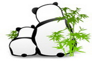 可爱熊猫图标下...