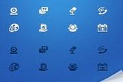 网页界面常用UI元素图标