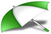精美雨伞图标下载