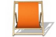 太阳伞沙滩椅图标