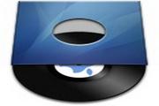 蓝色CD盒子图标下载