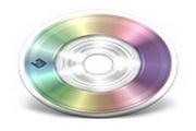 超大DVD光盘图标...