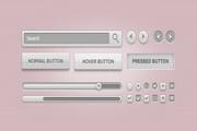GUI元素组PSD素材