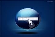 网页搜索图标PSD素材
