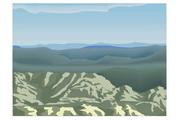 矢量风景背景素材123