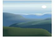 矢量风景背景素材142