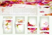 花朵背景Banner