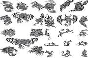 动物纹身纹样