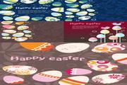 复活节彩蛋插画
