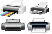 打印机矢量