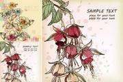 春色手绘花朵