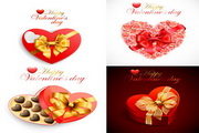 浪漫心型礼品盒