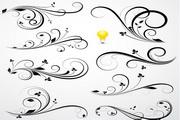 装饰植物花纹矢量设计