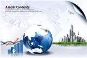 商务金融海报设计PSD模板