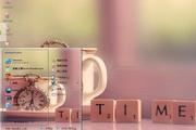 怀表和茶电脑主题