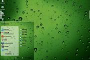 雨露雨滴电脑主题