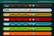 网页图标设计PSD素材