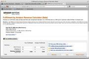 FBA Calculator Widget For Mac