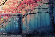 幻彩森林电脑主题