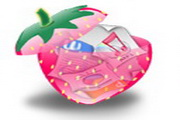 水晶卡通水果图...
