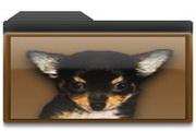 小狗文件夹图标下载