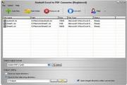 Aostsoft Excel to PDF Converter 3.9.3
