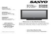 三洋DP42848液晶彩电使用说明书