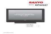 三洋DP42647液晶彩电使用说明书