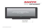 三洋DP37647液晶彩电使用说明书