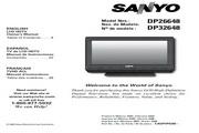 三洋DP32648液晶彩电使用说明书
