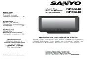 三洋DP26648液晶彩电使用说明书