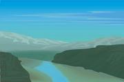 风景背景矢量素材124