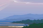 风景背景矢量素材141