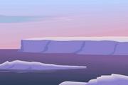 矢量夕阳风景素材15