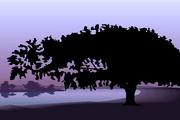 矢量夕阳风景素材35