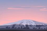 矢量夕阳风景素材39