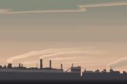 矢量夕阳风景素材43