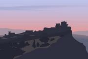 矢量夕阳风景素材47