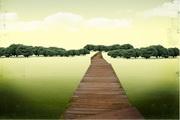 简单的景观 背景psd素材