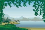 风景背景矢量素材158