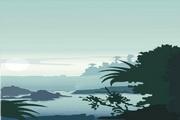 风景背景矢量素材189